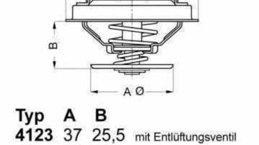 Termostat AUDI 80 Avant 8C B4 WAHLER 4274.87D