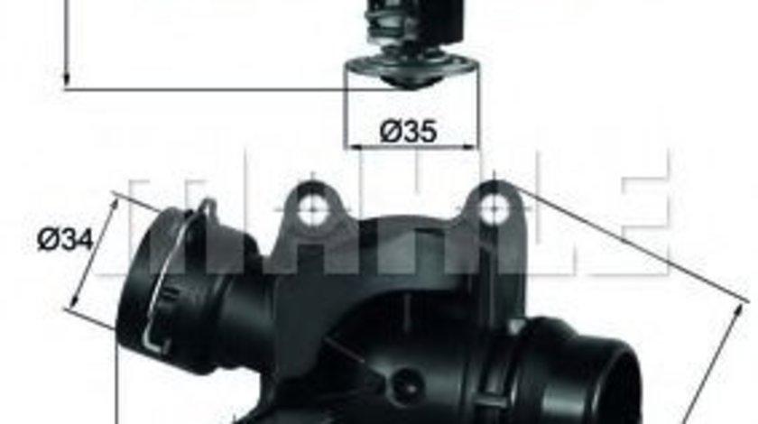 Termostat,lichid racire BMW Seria 1 Cabriolet (E88) (2008 - 2013) MAHLE ORIGINAL TI 234 88 produs NOU