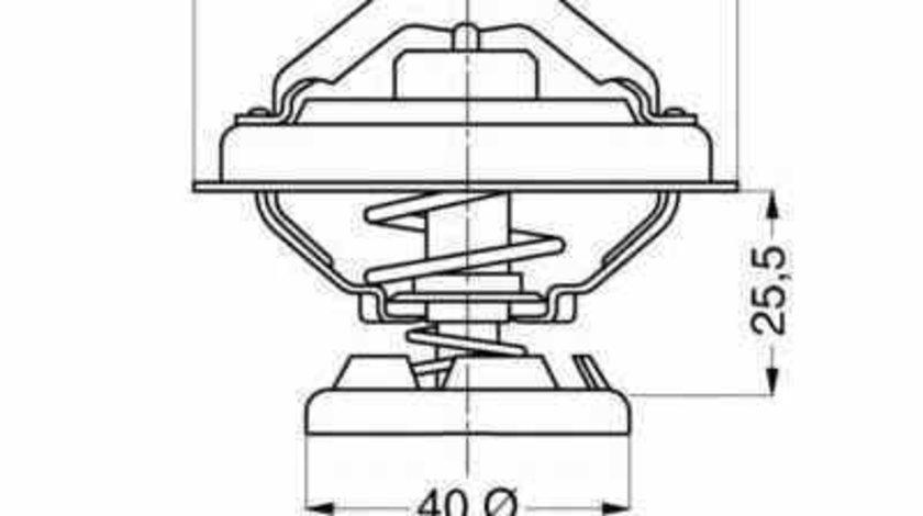 Termostat MERCEDES-BENZ SPRINTER 3-t caroserie 903 Producator WAHLER 4176.85D