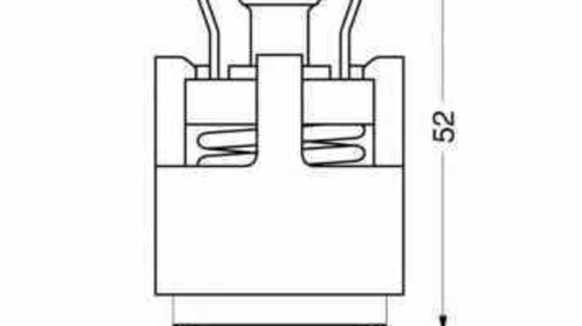 Termostat SKODA FABIA Combi 6Y5 WAHLER 3143.87D