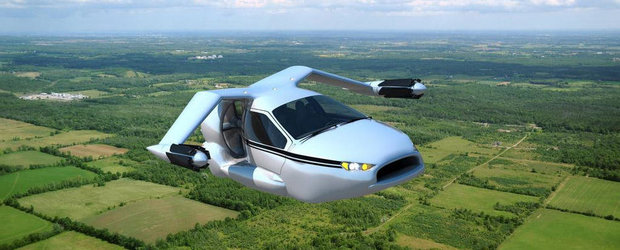Terrafugia TF-X: primul concept viabil de hibrid zburator