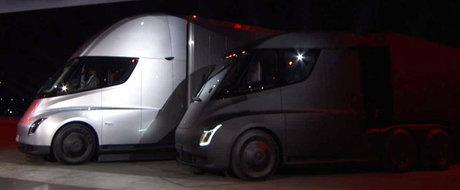 Tesla a dat noi detalii despre Semi. Americanii au anuntat cat costa revolutionarul cap tractor cu patru motoare electrice