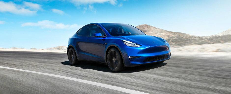 TESLA continua ofensiva. Noul SUV electric al americanilor are o autonomie de pana la 540 de kilometri