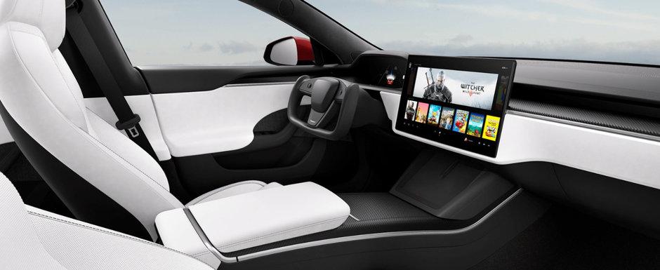 Tesla Model S a primit un facelift major. Noul model ofera trei motoare electrice si peste 1100 CP in versiunea de top