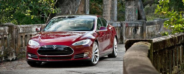 Tesla Model S depaseste la vanzari Audi A8, BMW Seria 7 si Mercedes S-Class