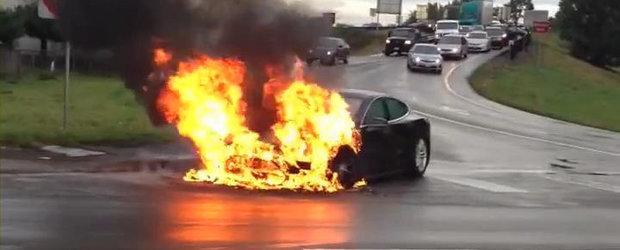 Tesla Model S in flacari