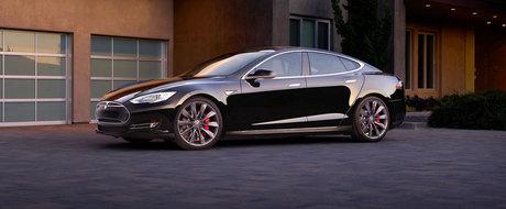 Tesla Model S se reinnoieste cu o versiune de 762 CP si 2.8 secunde