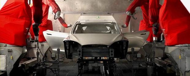 Tesla ne arata cum ia nastere electrizantul Model S