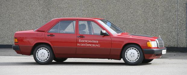 Tesla nu ar mai fi existat astazi daca acest Mercedes cu doua motoare electrice din 1990 ar fi intrat in productia de serie