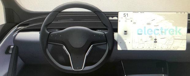 TESLA vrea sa modifice radical interioarele masinilor sale. Cum ar putea arata de anul viitor Model S si Model X