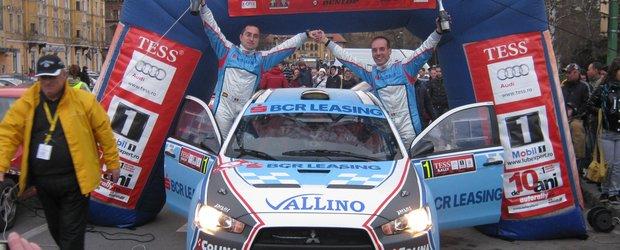 Tess Rally 2012 s-a transformat in 'Raliul Zapezii'