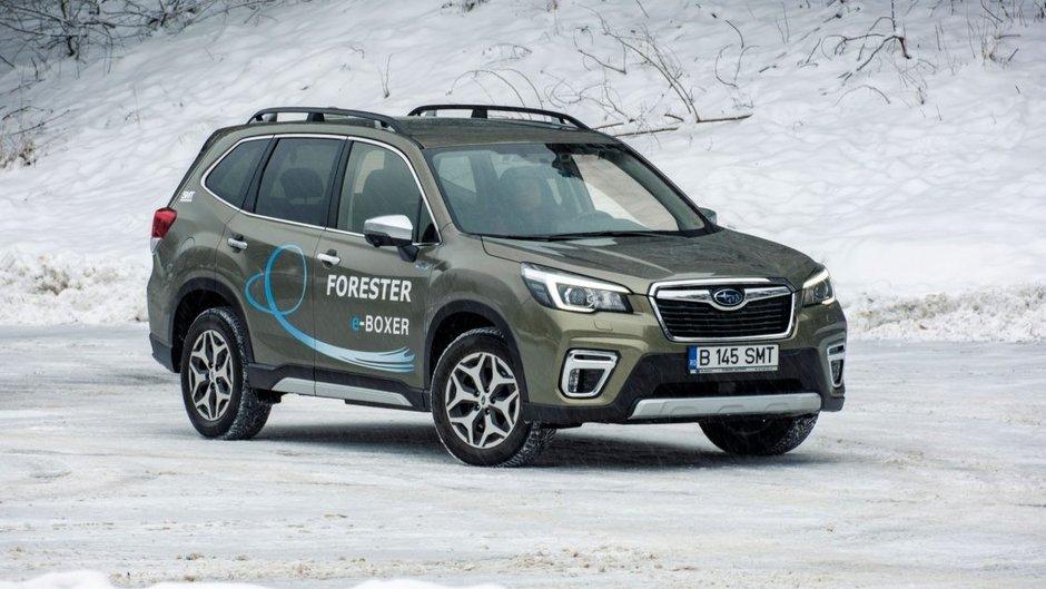 Test Auto Motor si Sport: Subaru Forester e-Boxer: Asta-i masina!