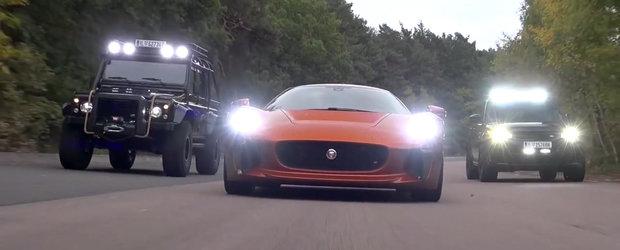Test cu Jaguar C-X75, cea mai REA masina din SPECTRE