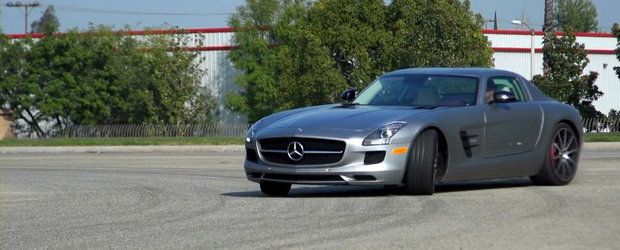 Test cu Mercedes SLS AMG in versiunea GT
