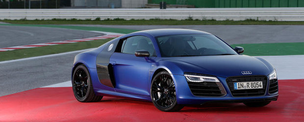 Test cu noul Audi R8 in versiunea cu transmisie DCT