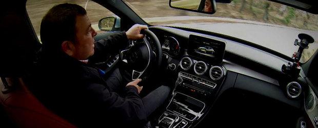 Test cu noul Mercedes C-Class. Cum se descurca modelul german