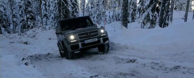 Test cu noul Mercedes G65 AMG - Aventuri la Cercul Arctic