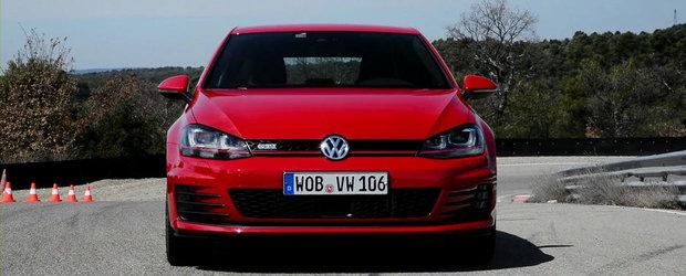 Test cu noul Volkswagen Golf GTI