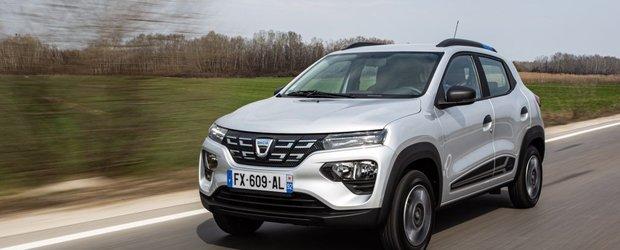 Test Dacia Spring: A venit primavara