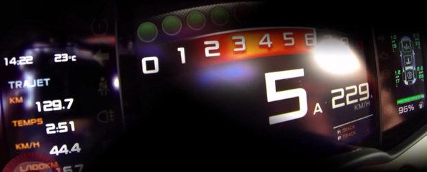 Test de acceleratie: 0 - 230 km/h la bordul noului McLaren 570S