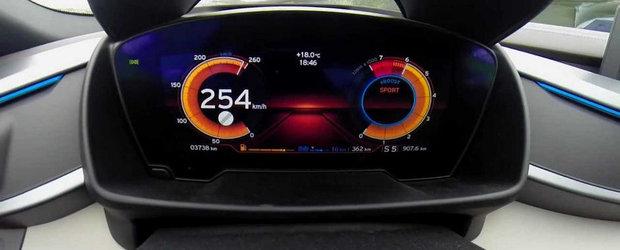 Test de acceleratie: 0 - 254 km/h la bordul noului BMW i8