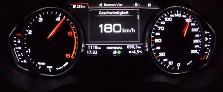 Test de acceleratie: Cat de repede atinge 180 km/h un sedan diesel de 150 CP?