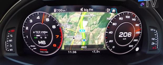 Test de acceleratie: Cat de repede atinge 200 km/h un SUV de doua tone?