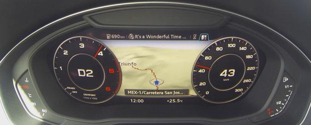 Test de acceleratie cu Audi-ul Q5 de 190 de cai putere