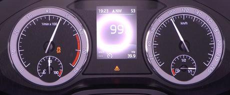 Test de acceleratie cu cel mai tare Skoda Kodiaq pe benzina