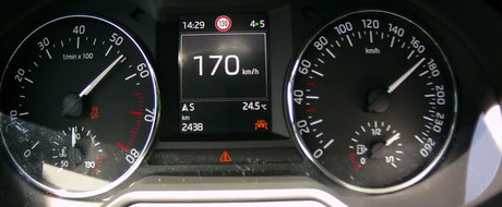 Test de acceleratie cu prima Skoda Octavia in trei cilindri. Uite cat de rapida e masina ceha in versiunea 1.0 TSI
