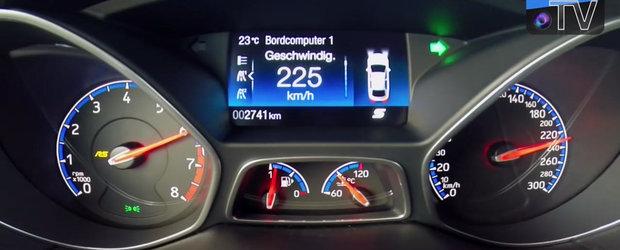 Test de acceleratie la bordul noului Focus RS. Uite cat de repede sprinteaza hot-hatch-ul de 350 CP