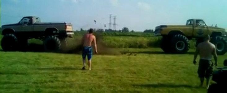 Test de Rezistenta: Monster Truck versus Monster Truck