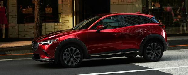 Test de vedere marca Mazda. Nici macar fanii inraiti nu observa modificarile suferite de CX-3 facelift