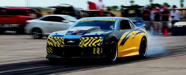 Test de viteza cu un Chevrolet Camaro de peste 900 CP