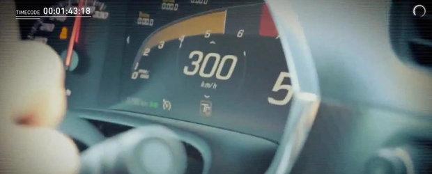 Test de viteza: Noul Corvette Stingray accelereaza pana la 300 kilometri pe ora!