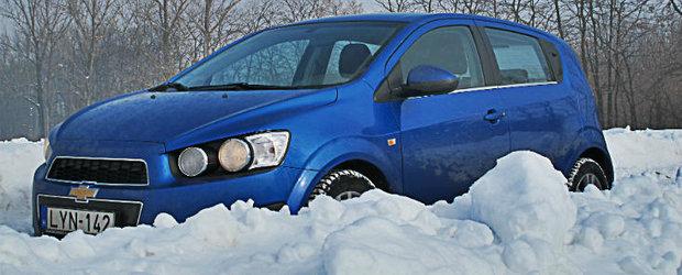 Test Drive 4Tuning: Chevrolet Aveo, un ou Kinder cu mai multe surprize