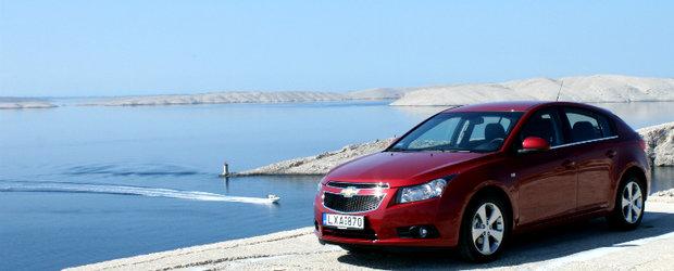 Test-drive 4tuning: Chevrolet Cruze hatchback - pe drumuri de asfalt si piatra in Croatia