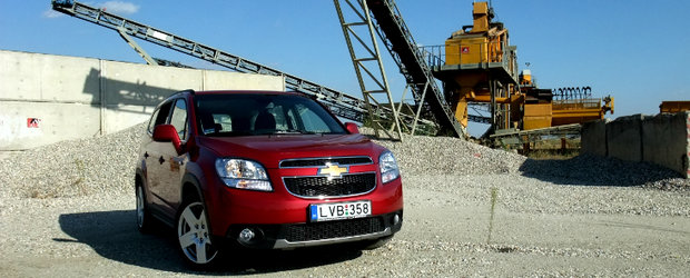 Test Drive 4tuning: Chevrolet Orlando, tancul ideal pentru Romania