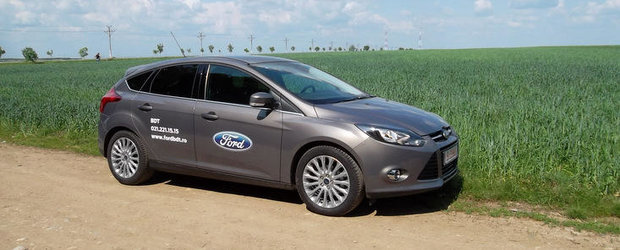 Test Drive 4Tuning: Ford Focus 1.0 EcoBoost - Un viitor Best-Seller
