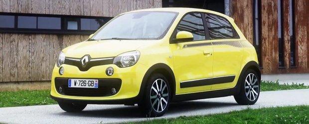 Test drive amuzant cu noul Renault Twingo