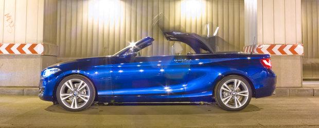 Test drive BMW 220d: placerea condusului sub cerul liber