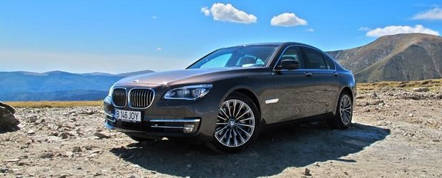 Test Drive BMW 730d xDrive: la inaltime