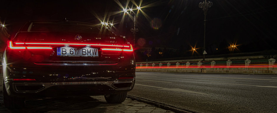 Test Drive BMW 750Li: Nava de croaziera