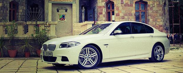 Test Drive BMW M550d xDrive: perfectiune cu aroma de motorina