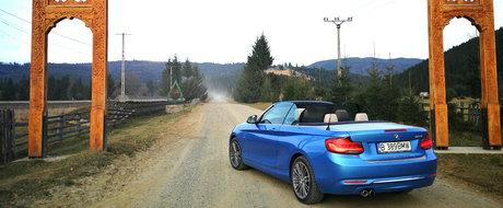 Test Drive BMW Seria 2 Cabrio: Pastila de fericire