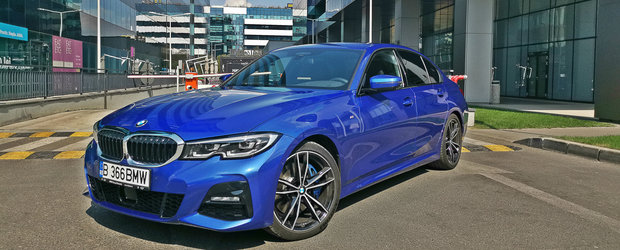 Test Drive BMW Seria 3 Sedan: Fineturi