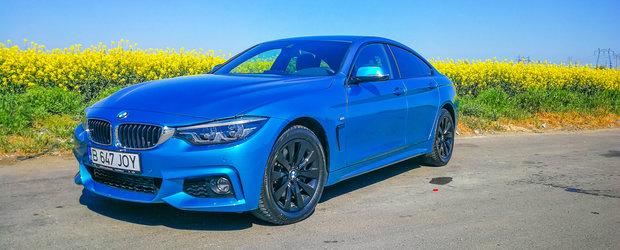 Test Drive BMW Seria 4 Gran Coupe: O prezenta incantatoare