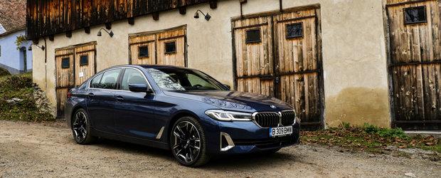 Test Drive BMW Seria 5 facelift: Luxos dar nu opulent