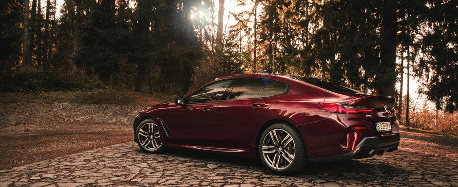 Test Drive BMW Seria 8 Gran Coupe: Spectacol vizual