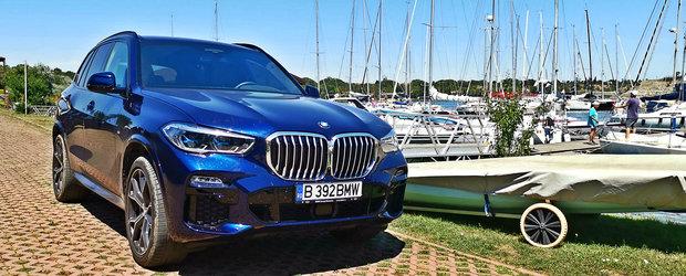 Test Drive BMW X5 45e: Mastodontul cu consum de 0.9 la suta